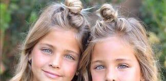 Des soeurs identiques nees en f