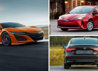 Toutes les voitures hybrides que f